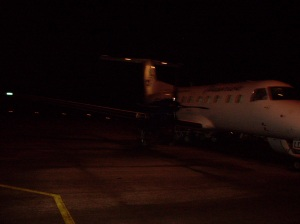 Este é o Passaredo, chamado popularmente de Passamedo. Foto tirada ao descer do avião.