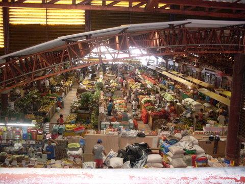 O mercado de Aracaju visto de cima, por Deus.