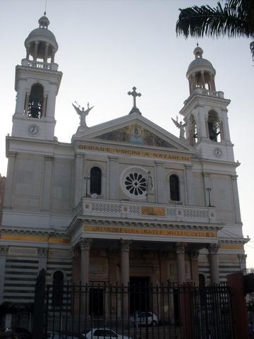 Basílica de Nazaré, onde chega o Círio.